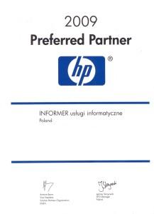 Certyfikat HP