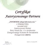 Certyfikat Enova